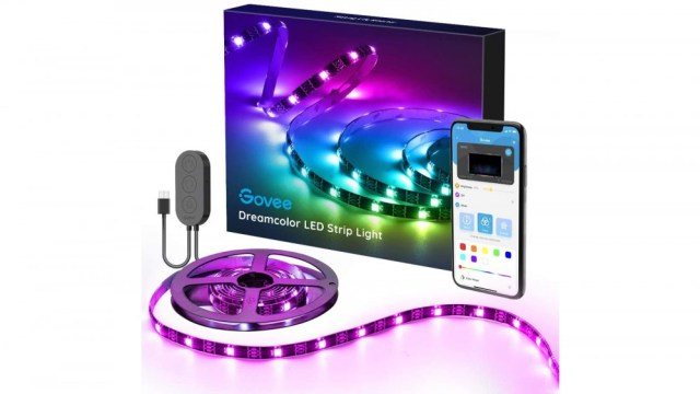 Govee LED Strip Lights for your desk, monitor, TV or anywhere else, fun colors for your desk