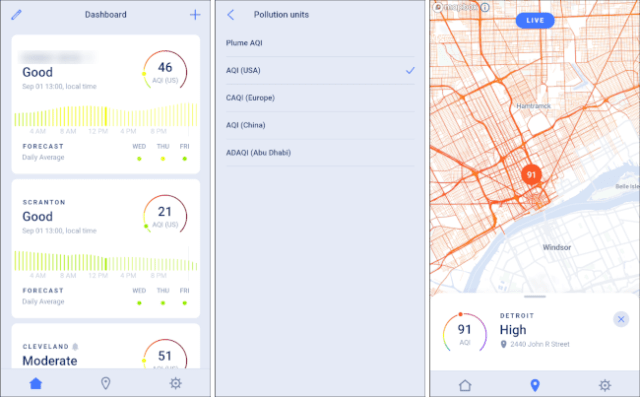 EPA Air Quality App for Android