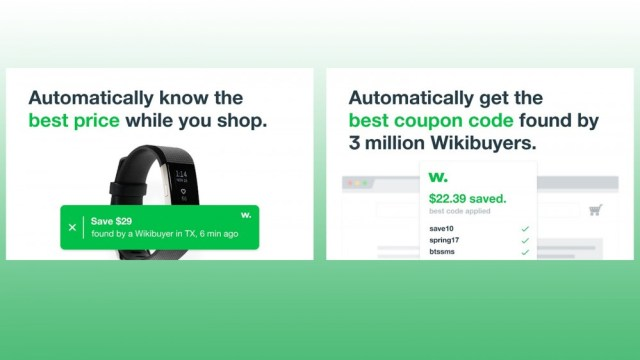 WikiBuy Chrome browser extension to see the latest deals while shopping, other WikiBuy users
