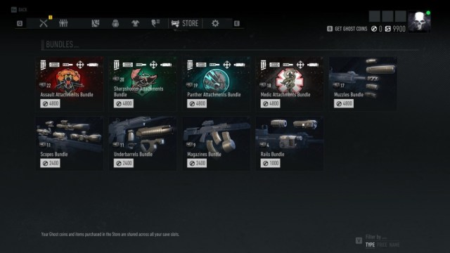 Purchases integrated with Ghost Recon