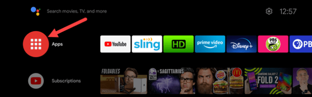 android tv apps list