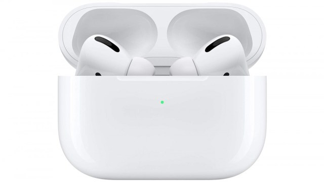 AirPods Pro in a wireless charging case
