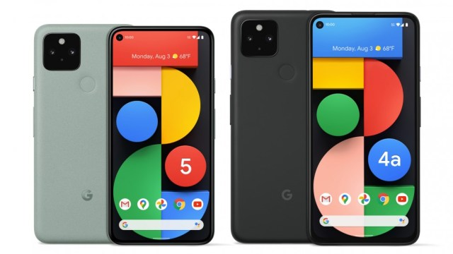 Pixel 5 and 4a 5G