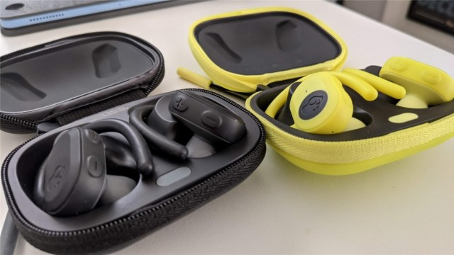 Skullcandy Push Ultra Earphones in Black and Yellow