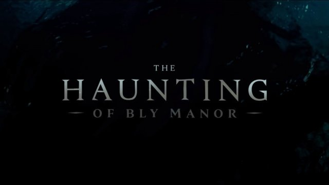Text from The Haunting of Bly Manor on an aquatic motif