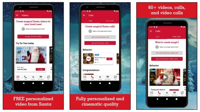 North Pole portable app with video, call and more