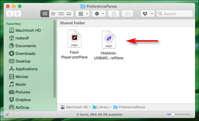 Third-Party Mac preference panes seen in Finder.