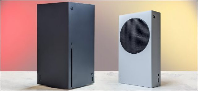 Microsoft Xbox Series X and S consoles.