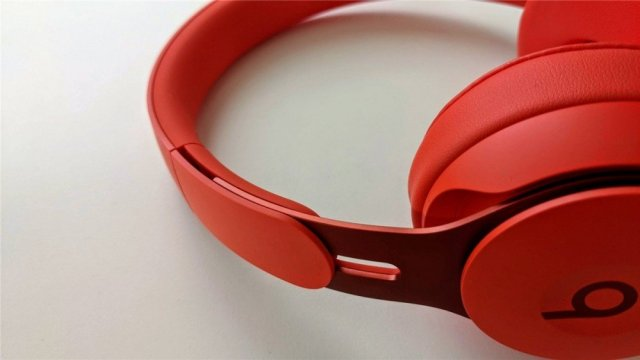 A photo of the Beats Solo Pro headphones.