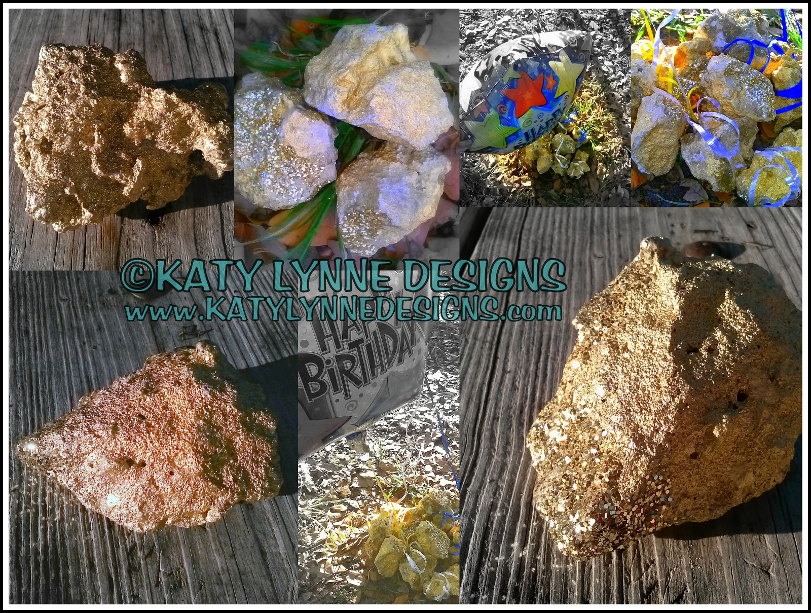 Make GOLD NUGGETS with Rocks & Spray Paint!