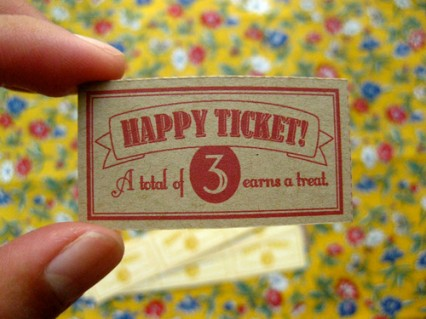 HAPPY TICKETS
