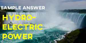 Cambridge 14 Hydro Electric Power