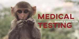 IELTS Sample Answer Medical Testing