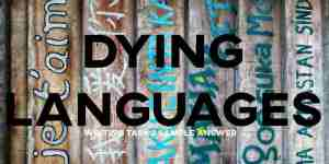 IELTS Writing Task 2 Dying Languages