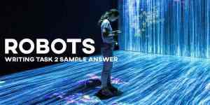 IELTS writing task 2 robots