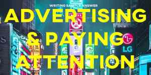 cambridge 15 ielts sample answer essay advertising paying attention