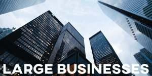 ielts essay large businesses
