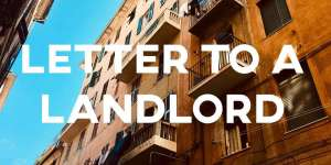 ielts letter to a landlord