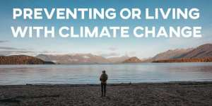 IELTS Essay: Preventing or Living with Climate Change