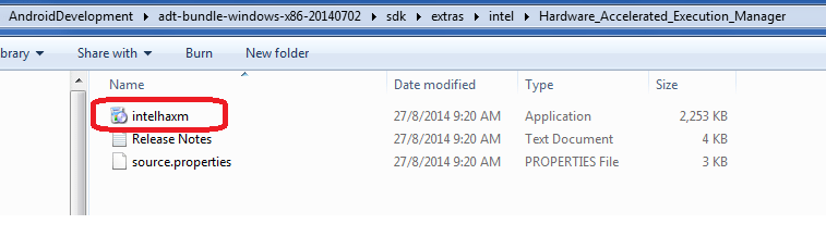 intelhaxm exe file