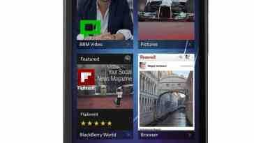 Blackberry Z30 Screenshot