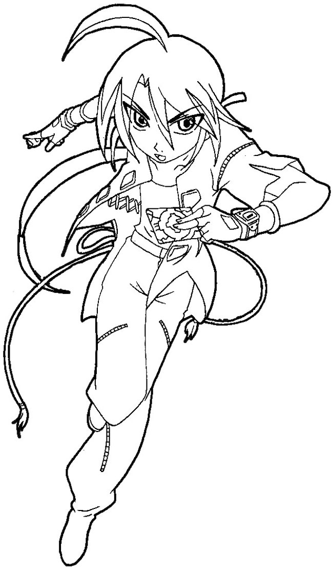 How to Draw Shun Kazami from Bakugan with Easy Step by