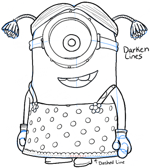 3d Coloring Pages For Minions Coloring Pages