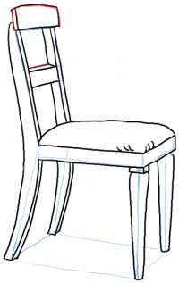 How to Draw a Chair in the Correct Perspective with Easy ...