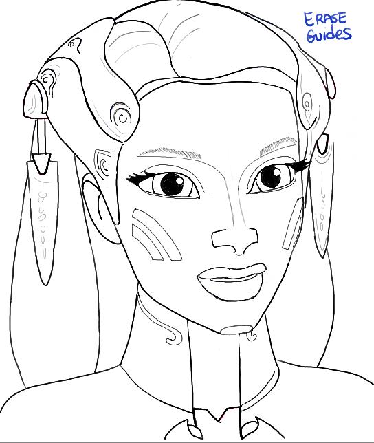 How to Draw Riyo Chuchi from Star Wars The Clone Wars