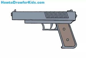 gun draw drawing weapons