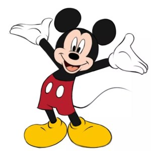 mickey mouse draw easy