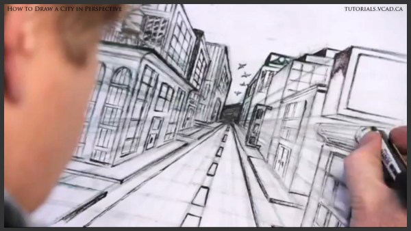 How To Draw City Buildings Imgurl