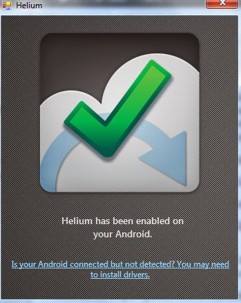 helium-enabled