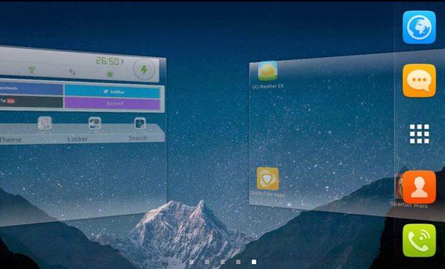 Go Launcher Ex Transition Animation Screenshot