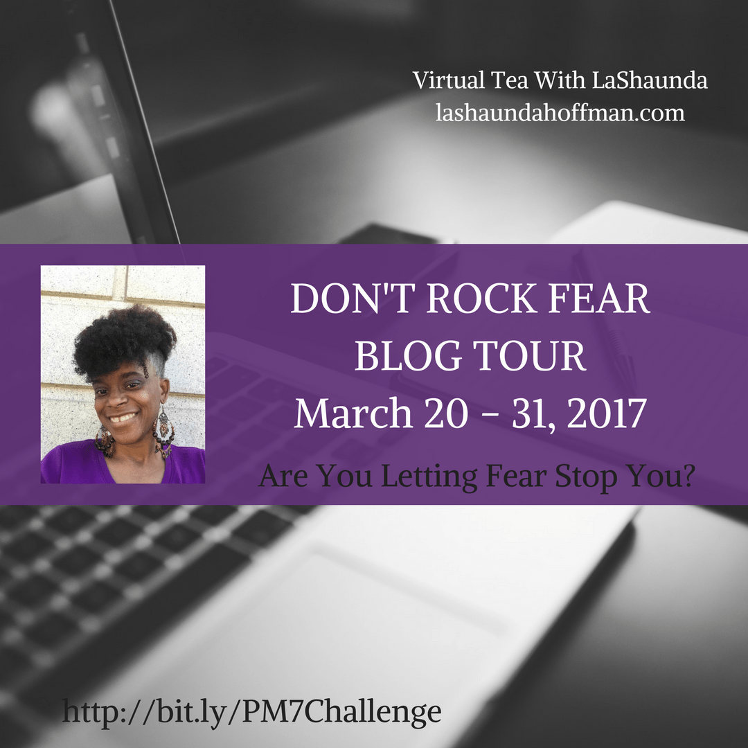 Don't ROCK Fear – Promotion Mindset  7 Day Challenge: People Will Ignore My Promotion – Crickets… @Sormag #Blogtour #bookpromo