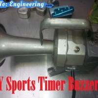 Sports Buzzer Timer DIY Build #2