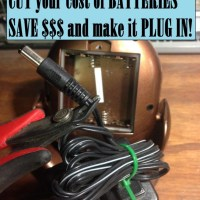 CUT your cost of BATTERIES - Save and Plug it in