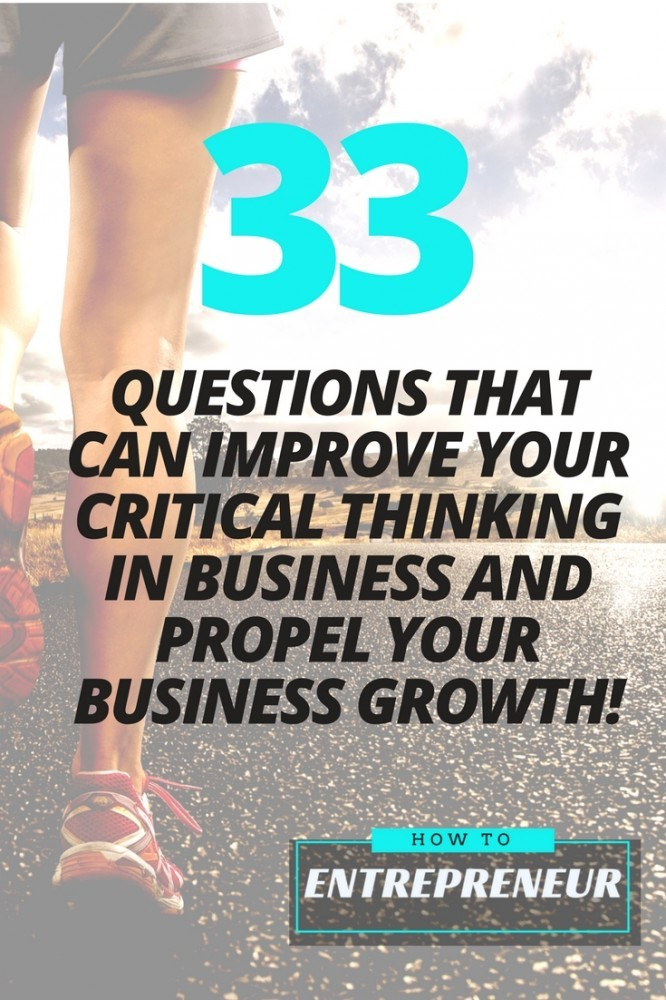 critical thinking in business