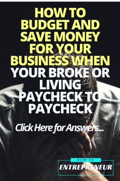 how to budget and save money for your business