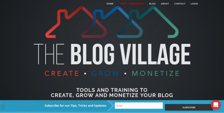 the blog village reviews