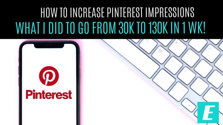 How to Increase Pinterest Impressions Thumbnail