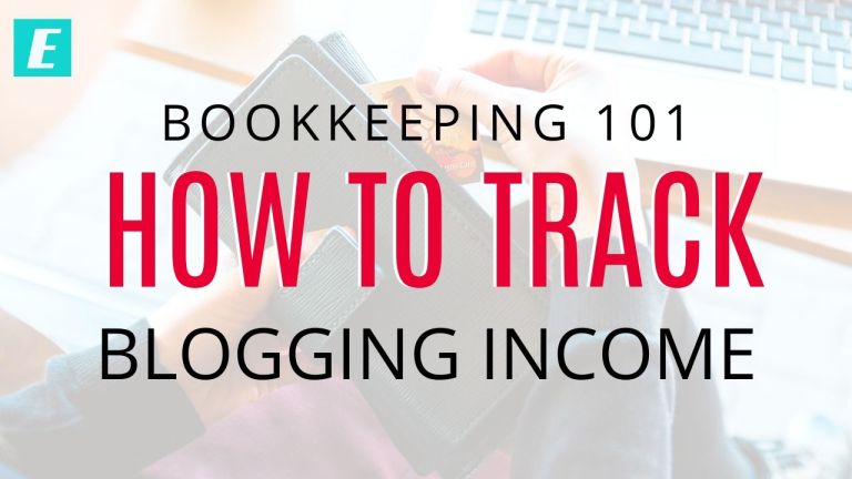 How to track blogging income - Featured Image