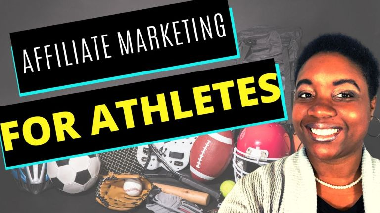 How to make money as an Athlete with Affiliate Marketing | Affiliate marketing for Athletes - Featured Image