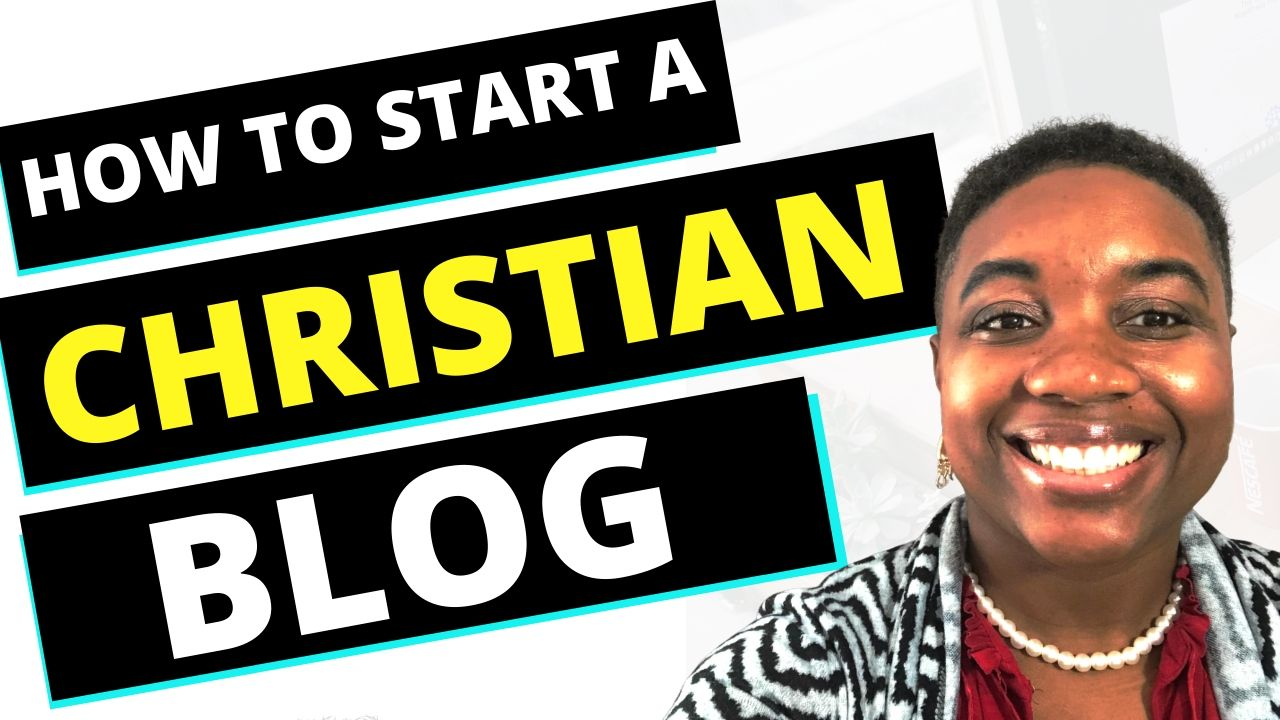 how to start a christian blog - featured image