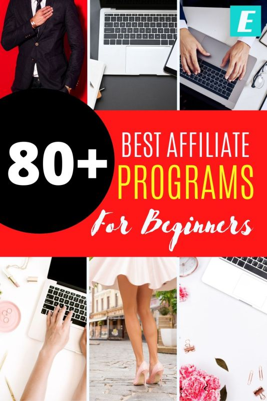 What are the best affiliate programs for beginners? - Pinterest Pin