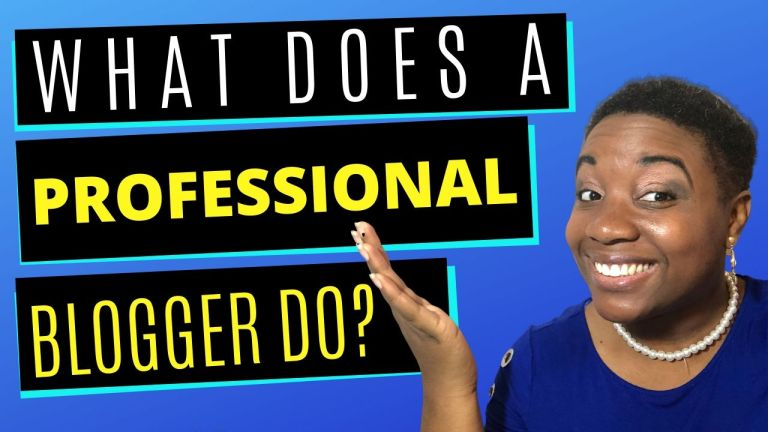 What does a blogger do? - Featured Image