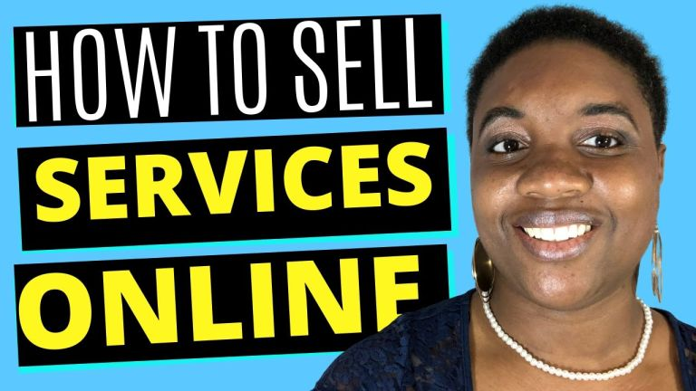 How to sell services online - featured image