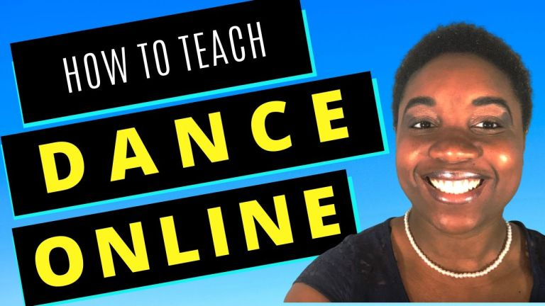 how to teach dance online - featured image
