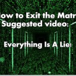 Video: Everything Is A Lie!