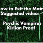 Video: Psychic Vampires